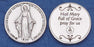 Pocket Prayer Token with Miraculous Medal with Prayer