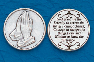 Pocket Prayer Token with Serenity Prayer