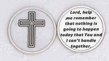 Lord, Remember' Silver Plated Pocket Token