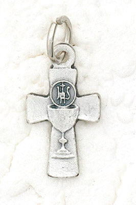 Small Chalice Cross Pendant