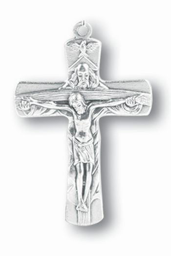 1 and 1/2 inch Trinity Crucifix