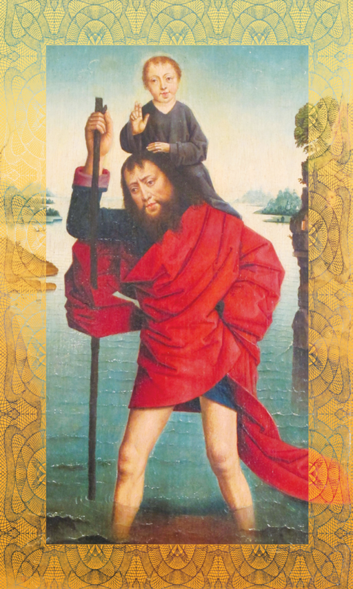 St. Christopher Motorist Prayer Card - 25-Pack