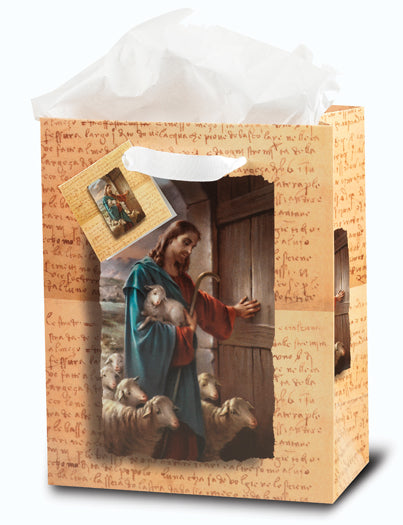 Good Shepherd Large Gift Bag with Tissue