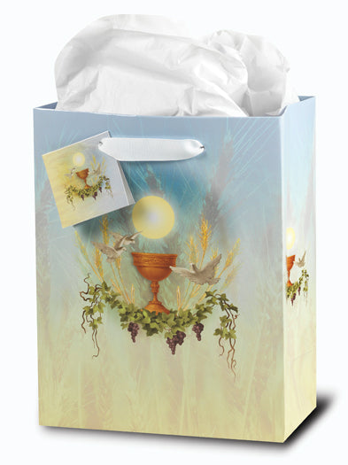 Communion Large Gift Bag with Tissue
