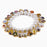 Holy Saint Stretch Bracelet - Aurora Borealis Pearl Beads