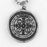 St. Benedict Vintage Medal Necklace or Keychain