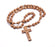 Medjugorje Wood Rosary - Mahogany Brown