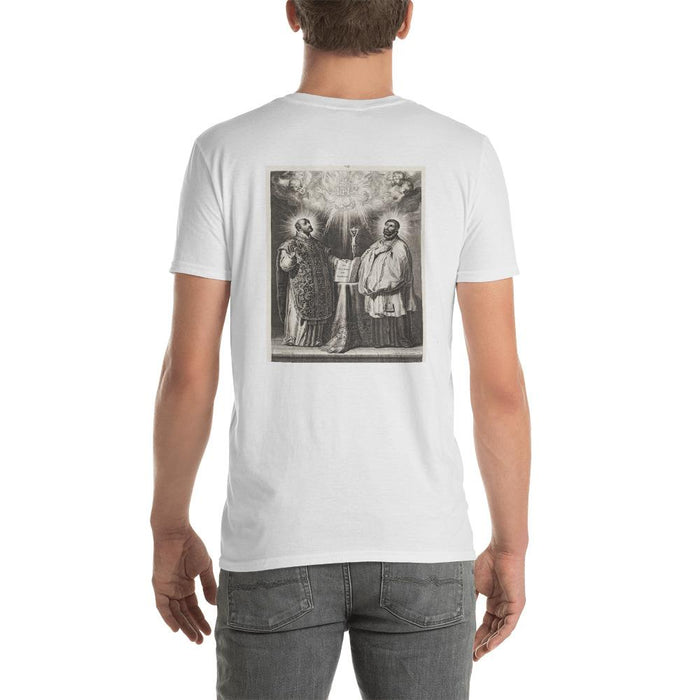 Saints Francis and Ignatius Unisex T-Shirt