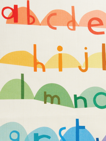 "ART TEA-TOWEL ""alphabet"""
