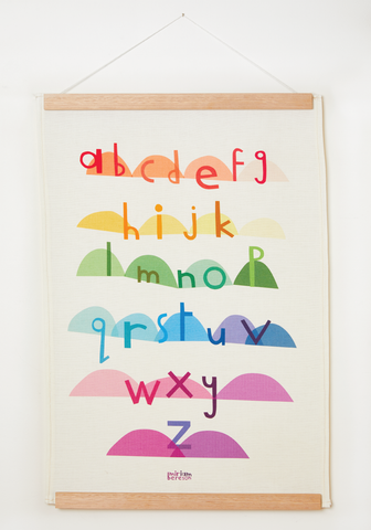 "WALL hanging ""kids alphabet"""