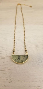 Lawson Green Pendant