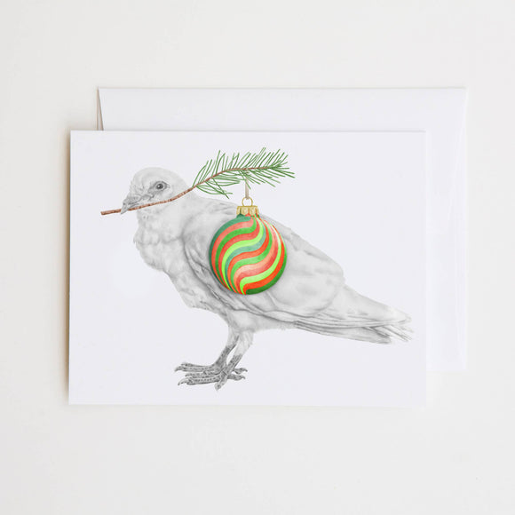 Edward Mhor Dove Note Card