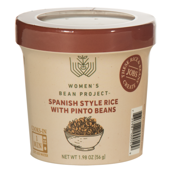 Spanish Style Rice & Pinto Beans Cup