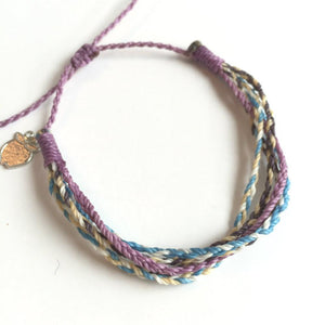 Lavender Blue Charity Friendship Bracelet