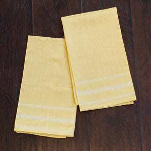 Spring Yellow Kitchen Towels