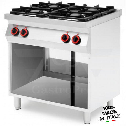 4 Burners Gas Range on Open Compartment mod. CPG874
