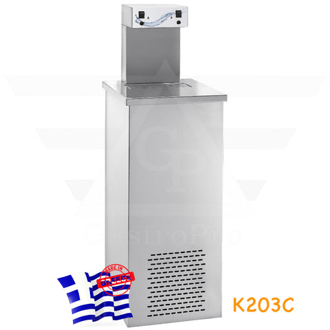 Water Cooler Fountain with 2 points of cold water distribution for 400 cups/hour mod.K203C