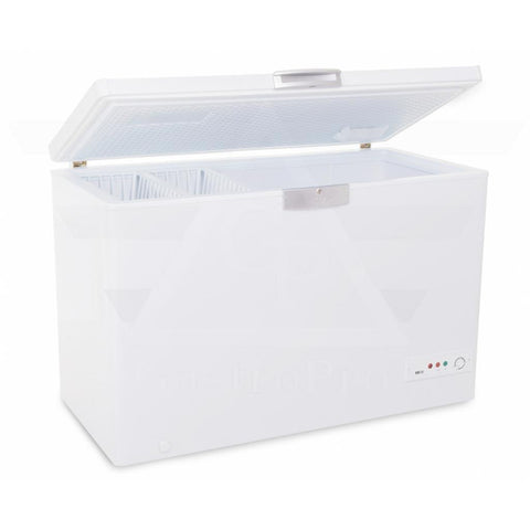 CEF-242 Chest Freezer (400Lt) with door open