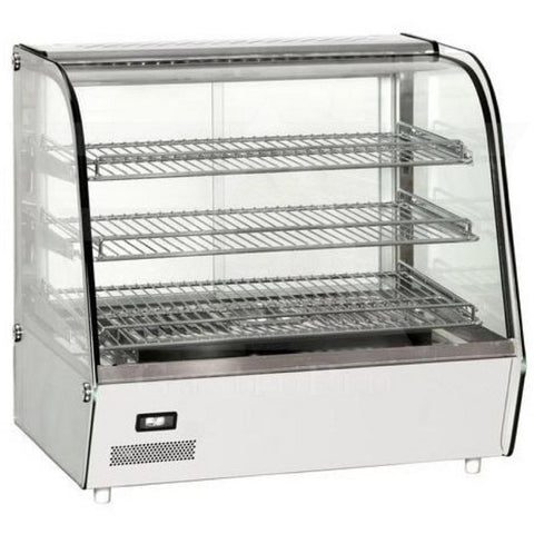 DELI PLUS 160 Countertop war showcase with LED (L86cm)