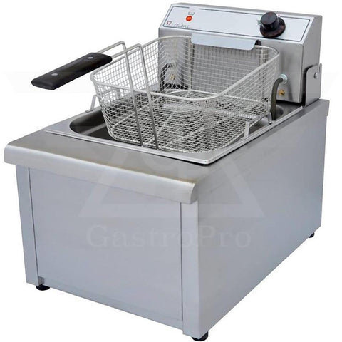 Electric Deep Fryer model F602 (5Lt-7Lt) 230V basket view