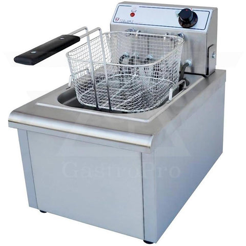 Electric Deep Fryer model F602 (5Lt-7Lt) 380V basket view
