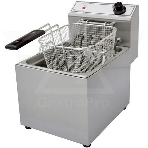 Electric Deep Fryer model F603 (5Lt-7Lt) 380V basket view