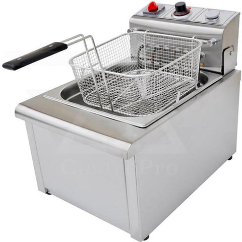 Electric Deep Fryer model F700 (8Lt-10Lt) 380V basket view