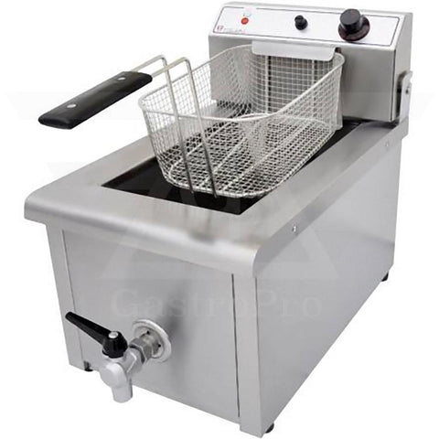 Electric Deep Fryer model F701 (8Lt-10Lt) 230V basket view