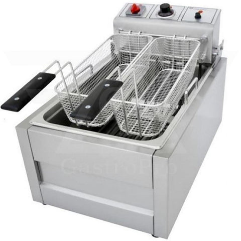 Electric Deep Fryer model TX13 (11Lt-13Lt) 380V double basket