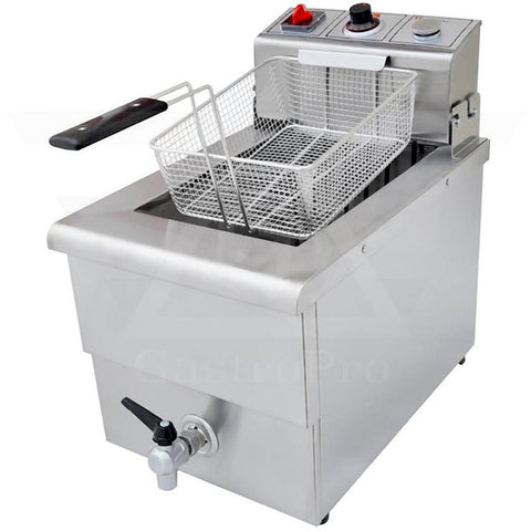 Electric Deep Fryer model TX5 (10Lt-12Lt) 380V basket view