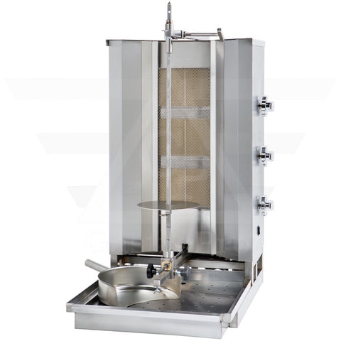 Gas Doner Kebab Grill for 50Kg of meat