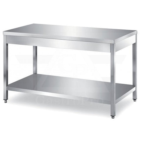 Stainless Steel Preparation table with under-shelf