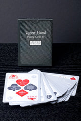 Upper Hand Playing Cards - Single Black Deck