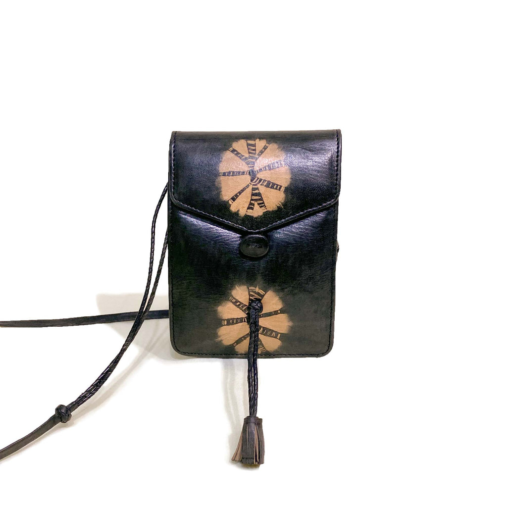Senegal-Made Small Leather Crossbody Handbag