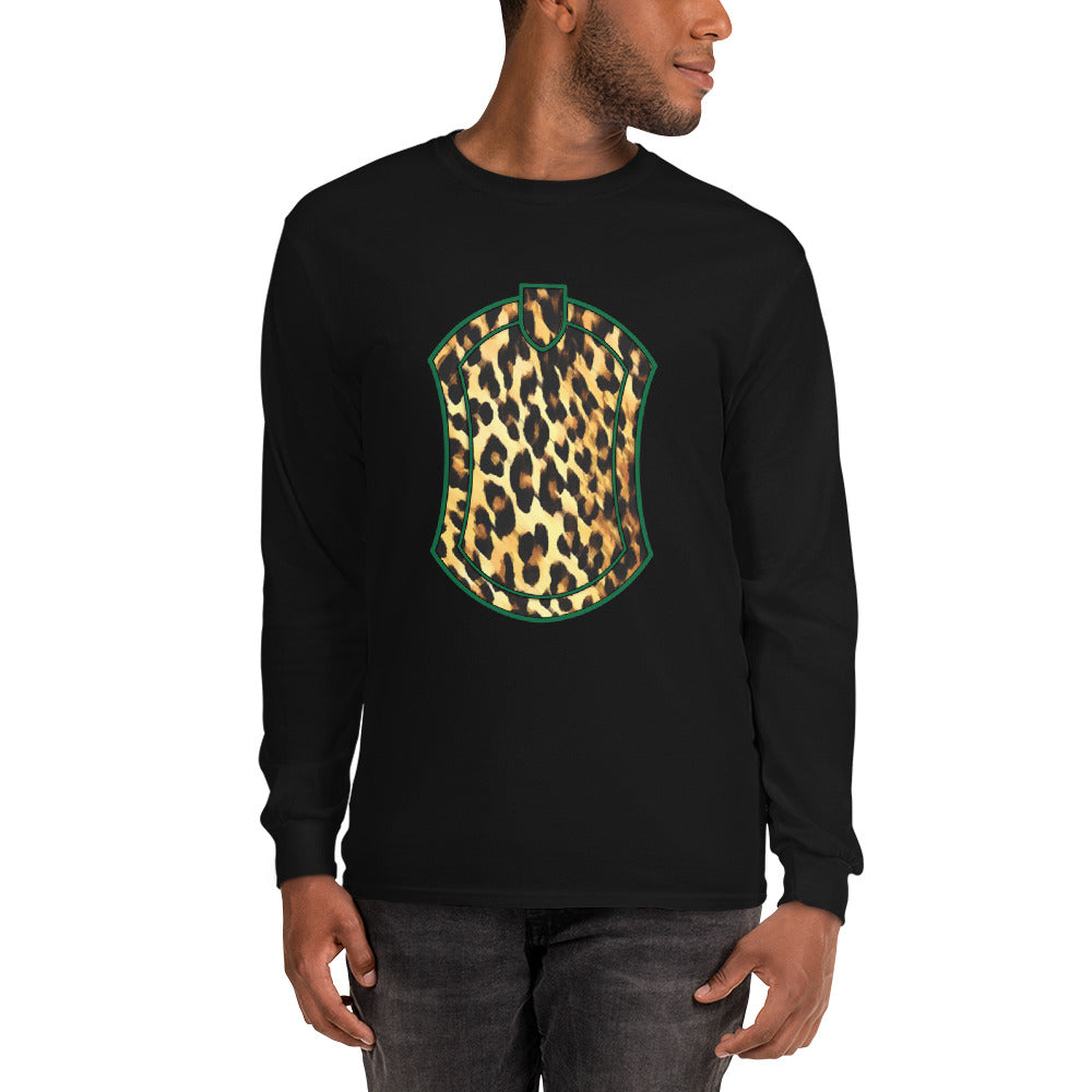 Leopard Crest Long Sleeve T-Shirt