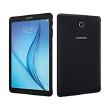 Samsung Galaxy Tab E 32GB Verizon Android Tablet and Case Bundle | WiFi + 4G LTE | SM-T378V | 5000mAh Battery Black | with Protective TPU Back Cover