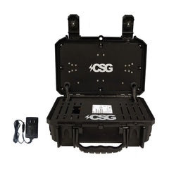 C5G Mobile Command Center Mini, Deployable Mobile Wired and LTE Wireless/WiFi Network Solution with Cradlepoint IBR900, in A Mil-Spec IP67 Lockable Case, Rugged Industrial Hotspot