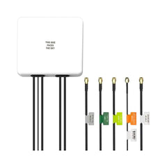 Taoglas Guardian MA950 | 5in1 Wall Mount Antenna | 1 x GNSS, 2 x LTE MIMO and 2 x Wi-Fi MIMO 146 x 134 x 20mm (White)