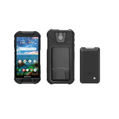 Kyocera DuraForce Pro 2 Cell Phone W/Case and Extended Battery Bundle | Duraforce Pro 2 with Sapphire Shield E6910 Black – Verizon | Baserox Modular Phone Case | 5800mAh Battery Pack Attaches to Case