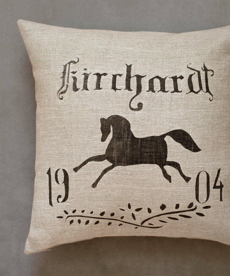 1904 Equestrian Pillow