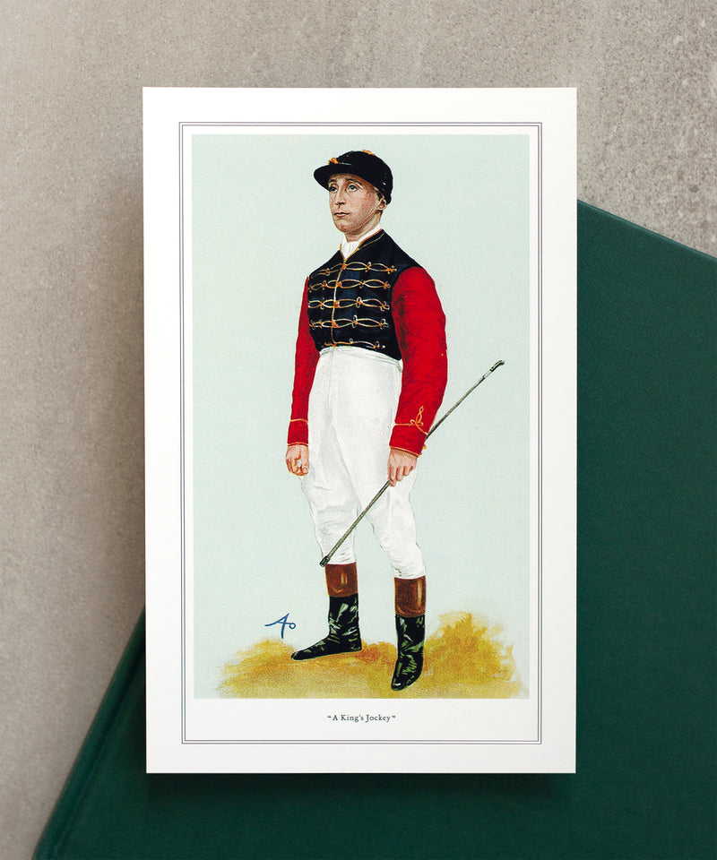 The Jockeys of Vanity Fair Equestrian Prints