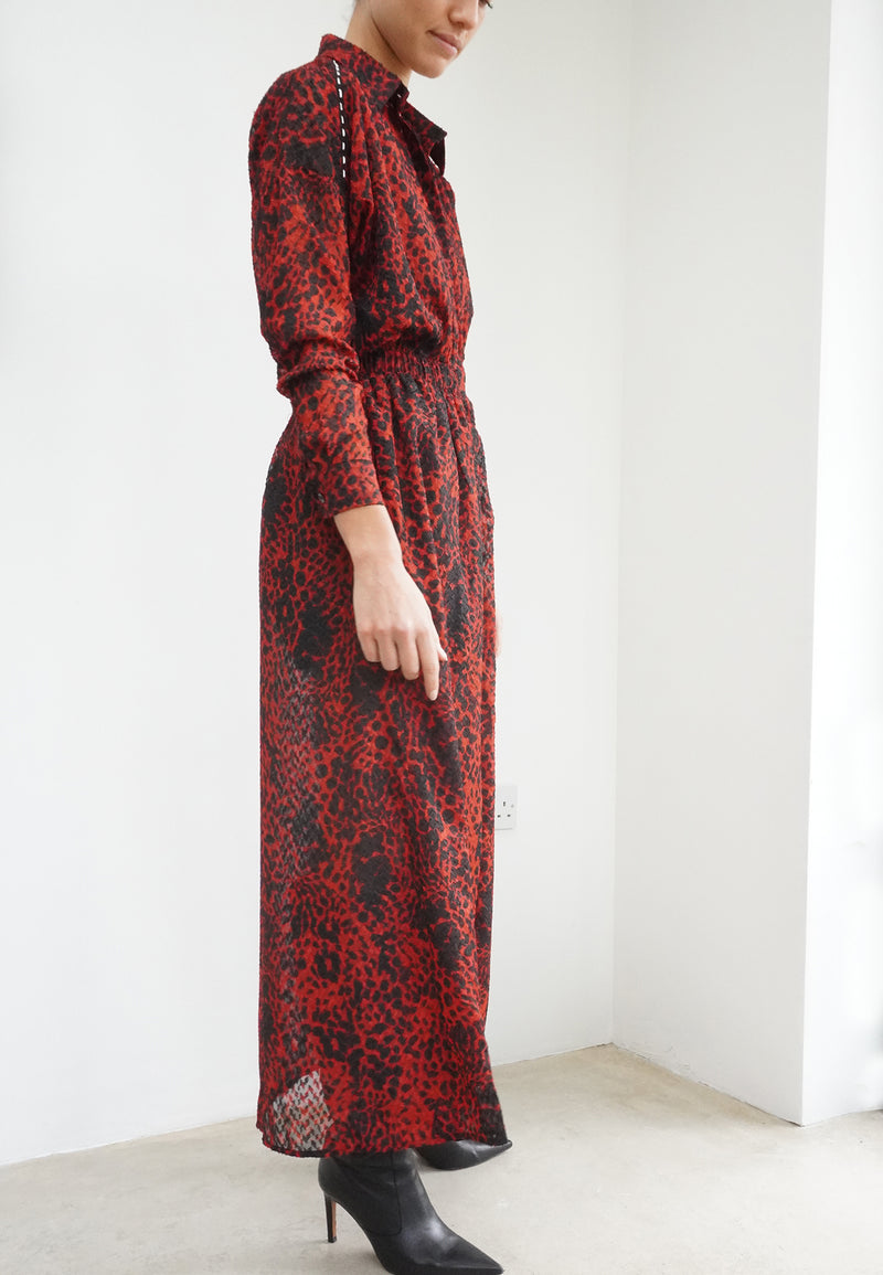 PARTICLE SHIRT DRESS ENERGY PRINT