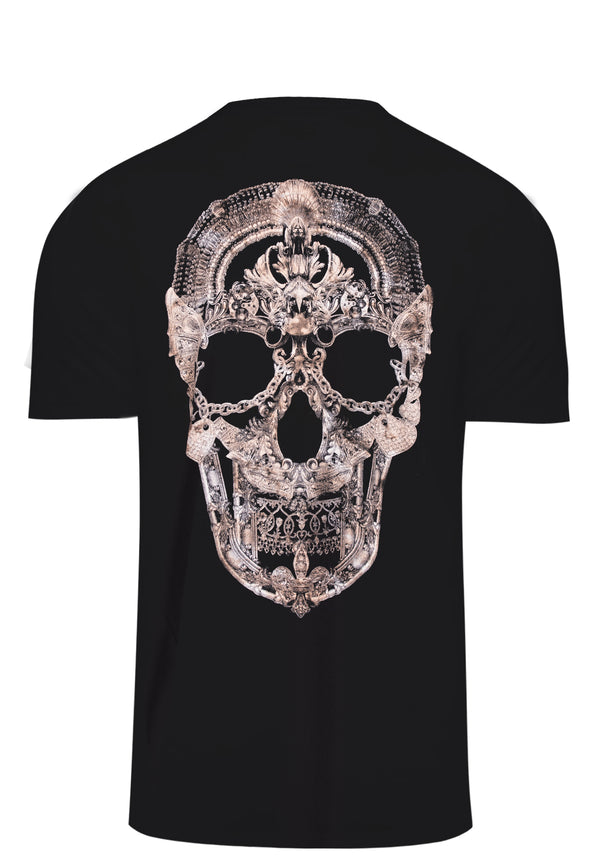 RELIGION Jewellery Skull Black T-Shirt