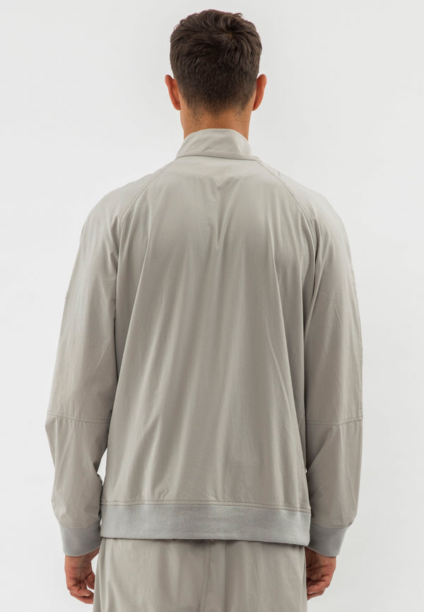 RELIGION Pitch Raglan Sleeves Grey Jacket