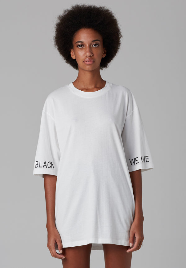 RELIGION We Live White Oversized T-Shirt