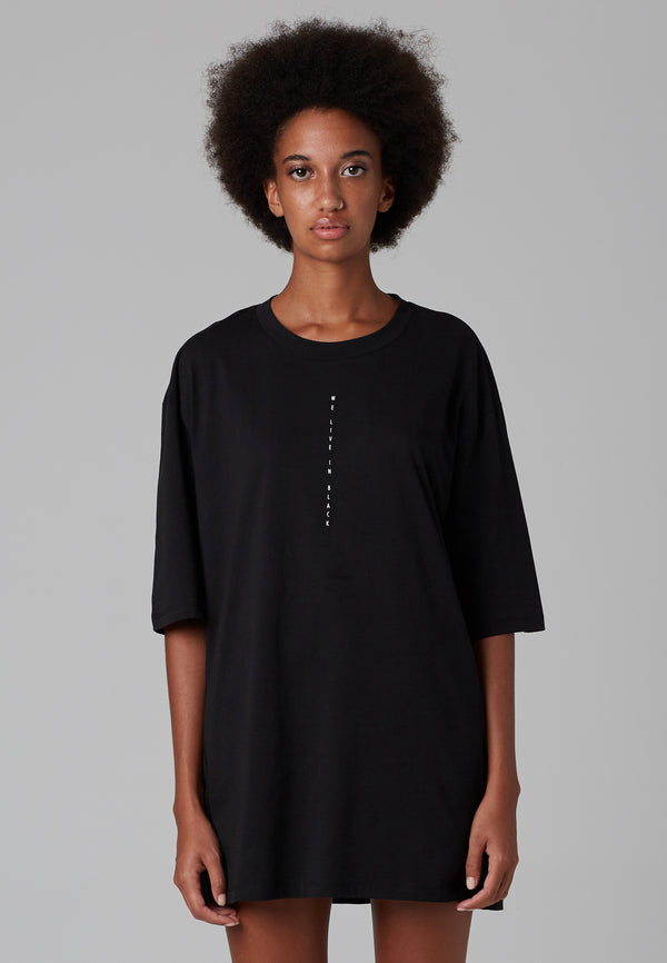 RELIGION We Live T-Shirt Oversized Black