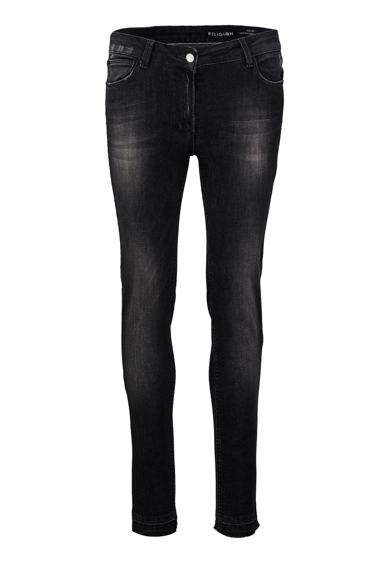 RELIGION Judas Skinny Jeans Pop Wash