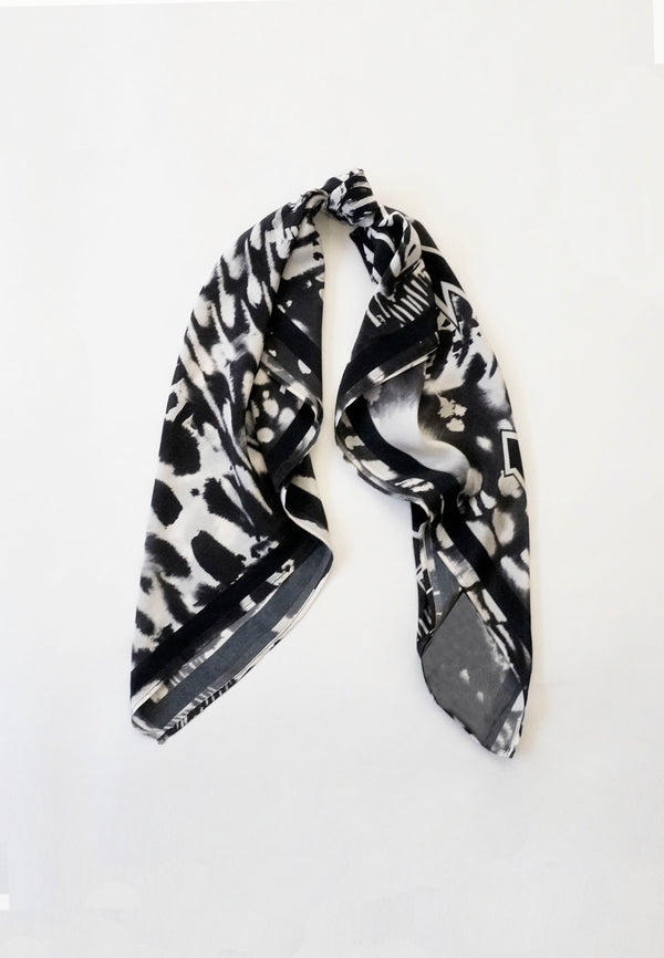 RELIGION Fusion Animal Print Scarf