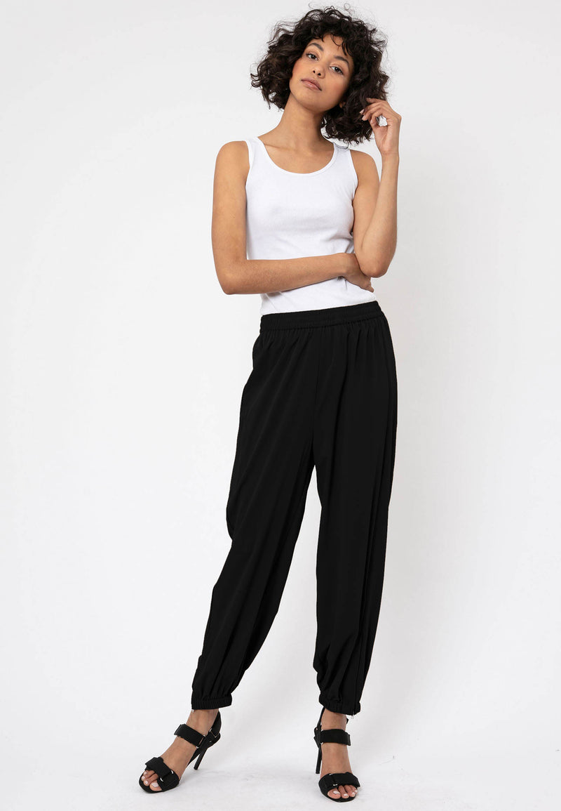 RELIGION Society Smart-Casual Black Trousers