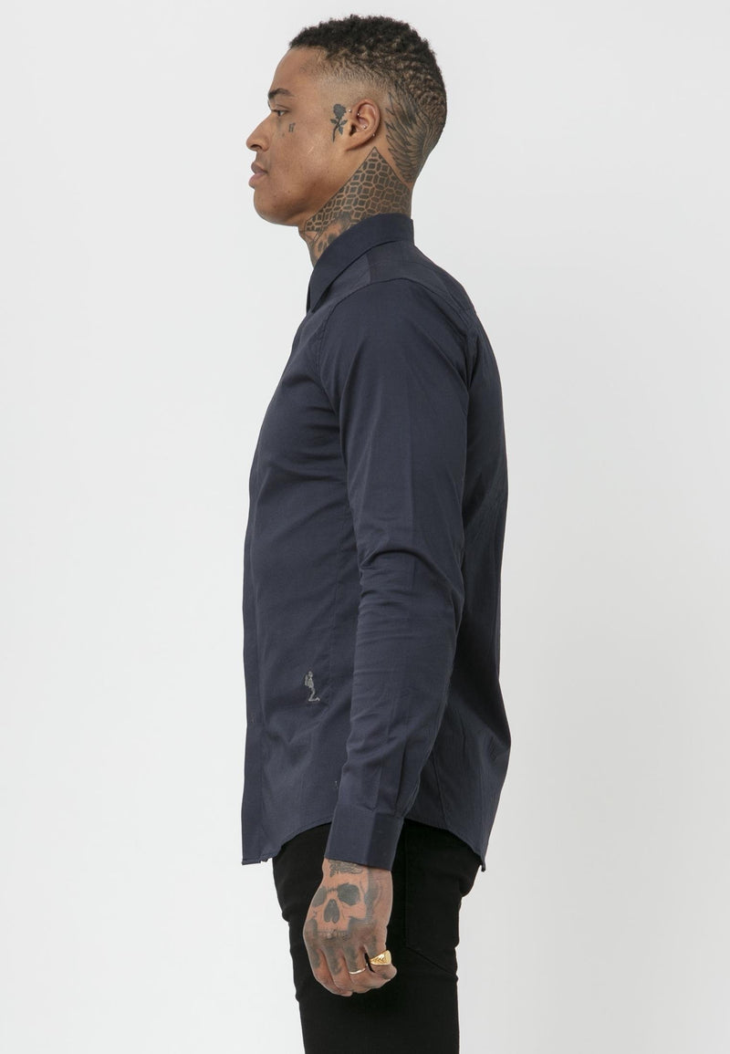 RELIGION Legion Smart Navy Shirt
